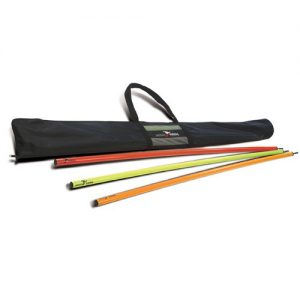 Precision carry bag poles